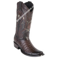 Men's Wild West Caiman Belly Boots Dubai Toe Handcrafted 2798216