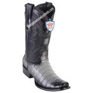 Men's Wild West Caiman Belly Boots Dubai Toe Handcrafted 2798238