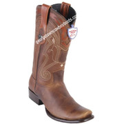 Men's Wild West Leather Boots Dubai Toe Handcrafted 2799951