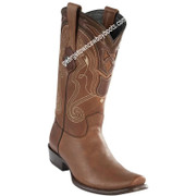 Men's Wild West Leather Boots Dubai Toe Handcrafted 2792707