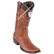 Men's Wild West Leather Boots Dubai Toe Handcrafted 2792751
