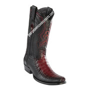 Men's Wild West Caiman Belly Boots Dubai Toe Handcrafted 279F8243