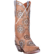 Dan Post Circus Flower Leather Boot DP3764
