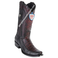 Men's Wild West Caiman Belly Boots Dubai Toe Handcrafted 279F8218