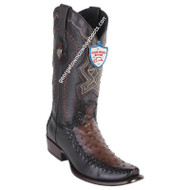 Men's Wild West Full Quill Ostrich Boots Dubai Toe Handcrafted 279F0316
