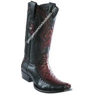 Men's Wild West Full Quill Ostrich Boots Dubai Toe Handcrafted 279F0343