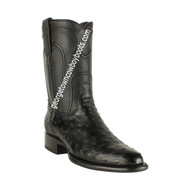 Men's Los Altos Ostrich Roper Boots Handcrafted 690305