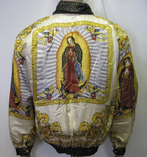 Vintage Bomber Jacket Our Lady Of Guadalupe