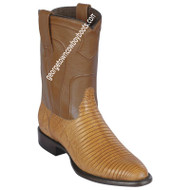 Men's Los Altos Lizard Roper Boots Handcrafted 690753