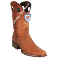 Men's Wild West Sharkskin Boots Square Toe Handcrafted 28189303
