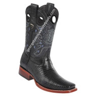Men's Wild West Teju Lizard Square Toe Boots Handcrafted 28180705