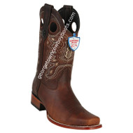 Men's Wild West Rage Leather Square Toe Boots Handmade 28189940