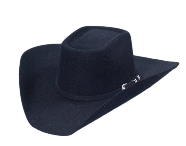 0b228941c849a ... Cowboy Hat 3x Brick Crown Black. Serratelli Hat Texana 3X TXSE670505