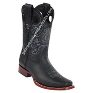 Men's Wild West Rage Leather Square Toe Boots Handmade 28182705