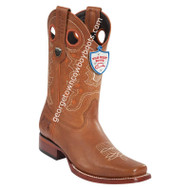 Men's Wild West Rage Leather Square Toe Boots Handmade 28182751