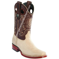 Men's Wild West Leather Boots Square Toe Handcrafted 28182709