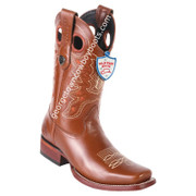 Men's Wild West Boots Genuine Leather Square Toe Handcrafted 28183851
