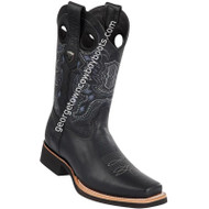 Men's Wild West Leather Boots Square Toe Handcrafted 2813E2705