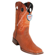 Men's Wild West Sharkskin Boots Square Toe Handcrafted 28249303