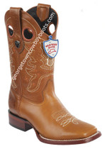 Men's Wild West Boots Genuine Leather Square Toe Handcrafted 28243851