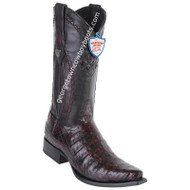 Men's Wild West Caiman Belly Boots Snip Toe Handcrafted 2948218