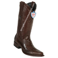 Men's Wild West Ostrich Leg Snip Toe Boots Handcrafted 2940507