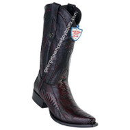 Men's Wild West Ostrich Leg Boots Snip Toe Handcrafted 2940518