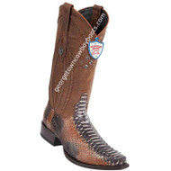 Men's Wild West Python Snip Toe Boots Handcrafted 2945788