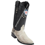 Men's Wild West Python Snip Toe Boots Handcrafted 2945749