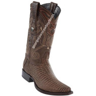 Men's Wild West Lizard Boots Snip Toe Handcrafted 2940735