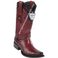 Men's Wild West Lizard Boots Snip Toe Handcrafted 2940743