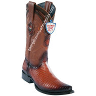Men's Wild West Lizard Boots Snip Toe Handcrafted 2940757