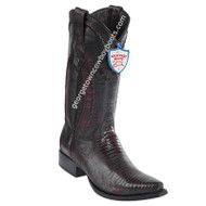 Men's Wild West Teju Lizard Boots Snip Toe Handcrafted 2940718