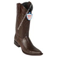 Men's Wild West Teju Lizard Snip Toe Boots Handcrafted 2940707