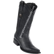 Men's Wild West Leather Boots Snip Toe Handcrafted 2942705