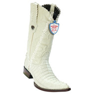 Men's Wild West Caiman Tail 3x Toe Boots Handcrafted 2950104