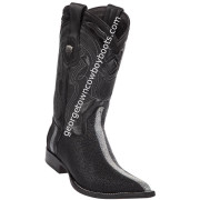 Men's Wild West Stingray Boots 3X Toe Handcrafted 2956005