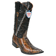 Men's Wild West Python 3x Toe Boots Handcrafted 2955788