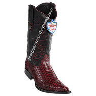Men's Wild West Python 3x Toe Boots Handcrafted 2955706