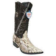 Men's Wild West Python 3x Toe Boots Handcrafted 2955749