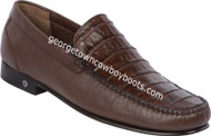 Men's Lombardy Caiman Belly Casual Shoes ZLA048207