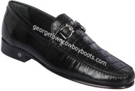 Men's Lombardy Caiman Belly Casual Shoes ZLA058205
