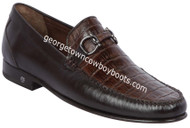 Men's Lombardy Caiman Belly Casual Shoes ZLA058207