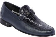 Men's Lombardy Caiman Belly Casual Shoes ZLA058210