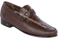 Men's Lombardy Ostrich Casual Shoes ZLA050307