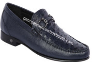 Men's Lombardy Ostrich Casual Shoes ZLA050310