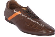 Men's Lombardy Caiman Belly Casual Shoes ZLA078207