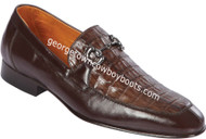 Men's Lombardy Caiman Belly And Calf Leather Dress Shoe ZLD018216