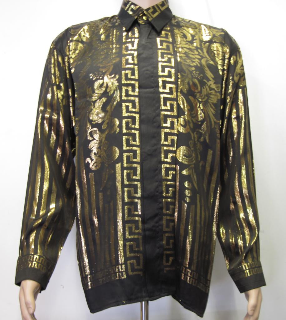 Men S Silk Shirt Vintage Georgetowncowboyboots