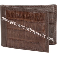 Men's Lombardy Caiman Belly Wallet CA48207